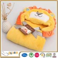 10 years experience baby blanket wrap coral fleece blanket super soft fabric