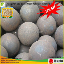 High carbon forged iron grinding ball