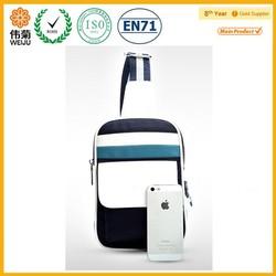 Cross shoulder waist bag for ipad school