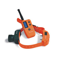 Orange color remote control dog training collar electronic shock dog training collar