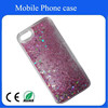 New design of cheap promotional plastic liquid oil mobile phone case for Iphone 5/5s