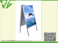 Outdoor double side A1 aluminum poster frame sign a boards