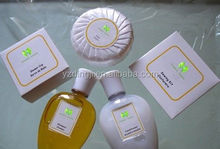 Plastic used in hotel or restaurant hotel amenities /2014 soft felling pleated wrapped fragrance bath soap