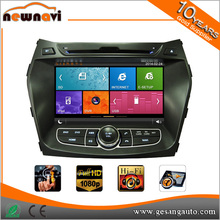 8 inch capacitive touch screen mirror link car radio for HYUNDAI iX45 2013- with GPS BT IPOD DVR AM/FM TV tuner 1080P