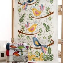 2015 newest designs Cheap plain white printed cotton velvet tea towels wholesale