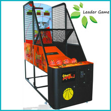 Coin game basketball shooting machine for sport