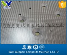 Absolute Fabtory Price!!! Carbon Fiber CNC Cutting Laminated Sheet