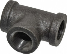 Malleable Ductile Cast / Galvanized Iron TEE pipe fitting