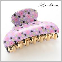 2014 popular flower purple hair accessory for women