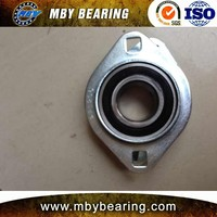 MBY or OEM brands tr pillow block bearing SAPFL207-22 for machine
