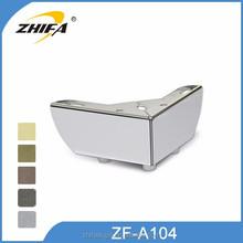 ZF-A104 light oak desk legs oak table legs/sofa legs replacement