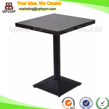(SP-RT108) stable square 2 seats dining tables foshan