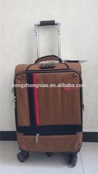 2015 new designer EVA suitcase luggage gold/custom made luggage strap/factory trolley luggage wholesale