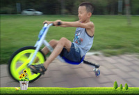360 degree caster trike drift tricycle adult drift car outdoor sports drift flash