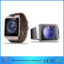 2015 dz09 sim card smart watch phone