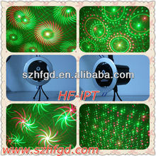 iPhone unique design christmas laser show and party laser light HF-iPT (RG) for christmas use