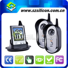 Full Touch Screen Wireless Video Door Phone