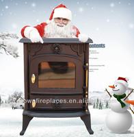 parts for cast iron mini wooden stove CE(JA013S)