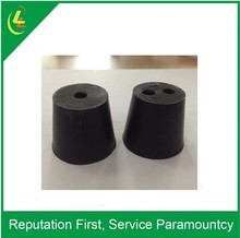 Custom made nonstandard one hole two holes rubber stopper