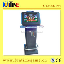 """19"""" Lcd arcade coin operated game machine, touch screen bar games"""