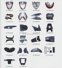 External parts of motorcycle kawasaki motorcycle carbon fiber parts