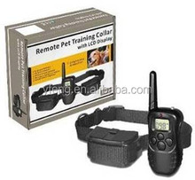 100 Level 300M Remote DOG Training Collar with LCD Handset Electric SHOCK 4in1 ANTI BARK Stop Barking