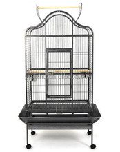 Hot Selling Model Dometop Open Parrot Cage, Parrot Bird Cage, Big Parrot Cage