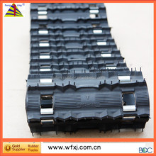 Bombardier snow rubber tracks facotry /snowcat/Skidoo/ yamaha / snowmobilr parts / snowmobile trailers rubber track