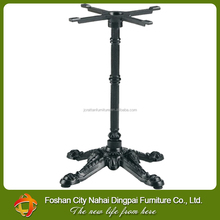 Cheap price strong cast iron table legs