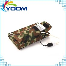 2015 new design foldable solar mobile phone charger case for mobile phone