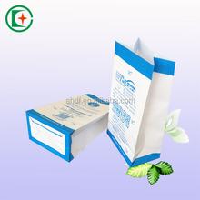 White kraft environmental air/sea/train sickness paper bag