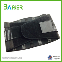 Magnetic waist lower compression safety back support belt