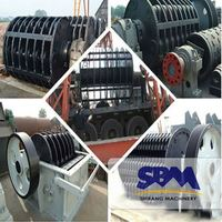 SBM the main equipment of firebrick jaw crusher processing of crushing plant malaysia