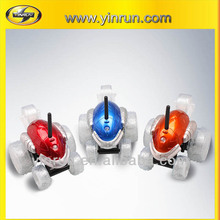 Funny spinning toy car with colourful LED lights 2014 rc car