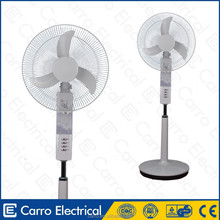 China suppliers solar air battery fan battery operated cooling fans
