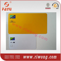 motorcycle number plate for Tanzania, aluminum license plate, blank number plate