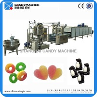 Automatic jelly candy sweet making machine