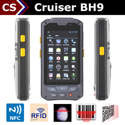 Cruiser BH9 NFC dual core GSM nfc military rugged android RFID devices tablet pc