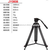 JY0606A Manfrotto compatible professional Video tripod