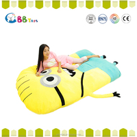 Large Size Cartoon Minion Toys Giant Stuffed Animals 3D Minions Plush Toy Mattress lazy