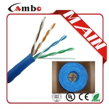 Shenzhen Factory utp 4 pair 24awg copper make your own ethernet cable
