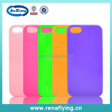2015 stylish tpu gel cover case for iphone 5 mobile phone soft case