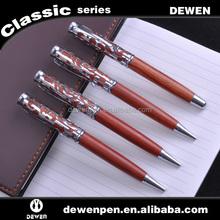 newest design wooden metal ballpen and roller pen
