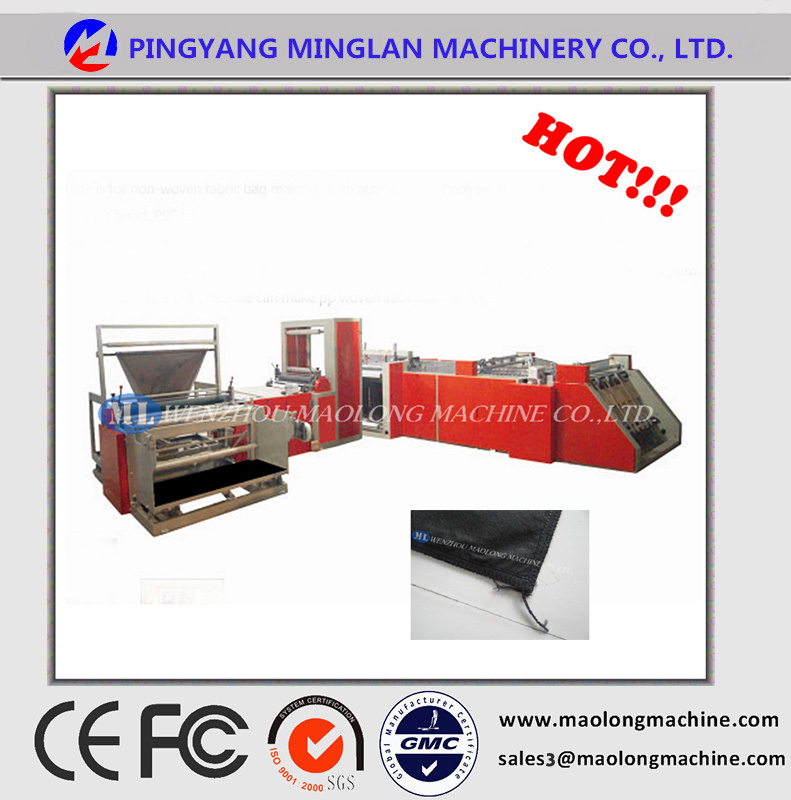 Non Woven Fabric Bag Making Machine Price/ Non Woven Cutting And ...
