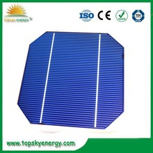 2015 High Efficiency & Low Price 125*125 ,5 Inch mono Taiwan Brand Solar Cells