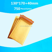 Custom Made Envelopes Kraft Bubble Mailers Bag/Courier Bubble Bag