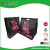 2015 Latest laminated pp non woven butterfly carry bag
