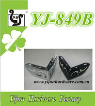 Flower Two-in-one metal silver color feet for divani YJ-849B