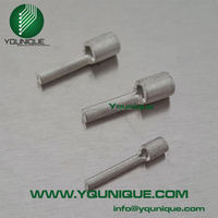 factory direct 22-16AWG copper CE non-insulated pin type lugs PTN1.25-10