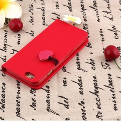 Luxury Painting PU Leather Case For iPhone 5C Flower Pineapple & Elephants Fashion Flip Wallet Stand Cover Phone Cases